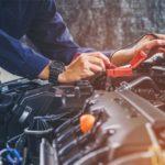 Fehlerdiagnose beim Auto-Service-Saalow